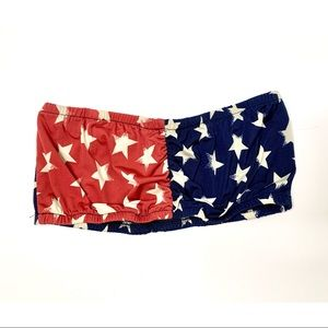 Other - American Red, White & Blue Bandeau